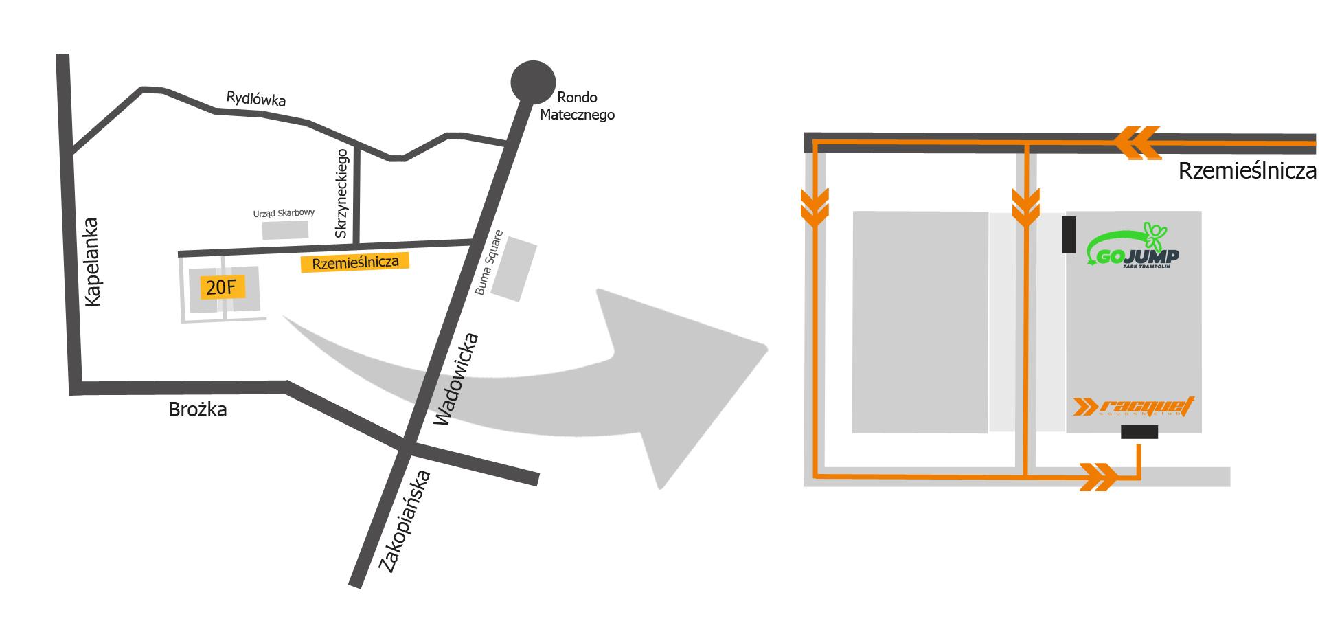 mapka dojazdu scal