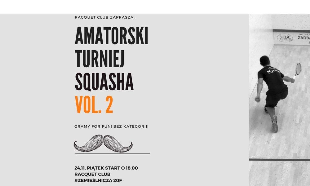amatorski turniej squasha